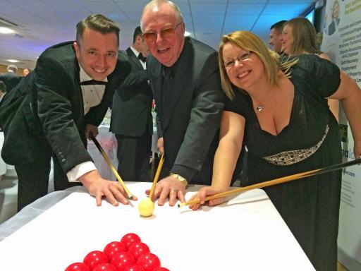 PPA : Howzat for a prestigious charity dinner : Portsmouth Property Association